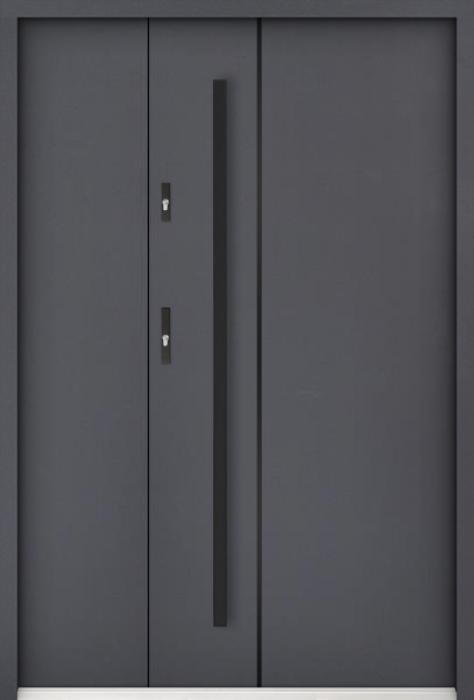 Sta Nakamoto Noir Uno - exterior door with side panel