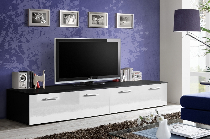 Omega 1 - black and white tv cabinets for sale