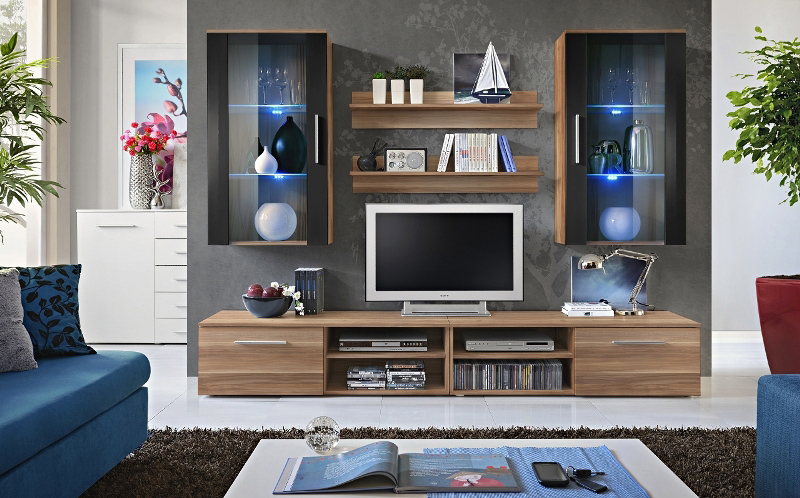 Oregon 8 - TV Wall Unit