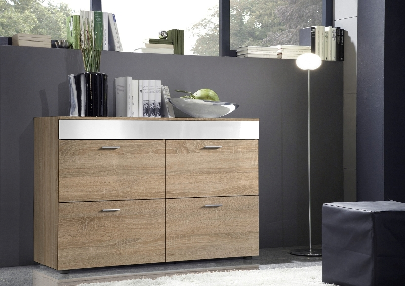Paris SB 7 - oak sonoma chest of drawers