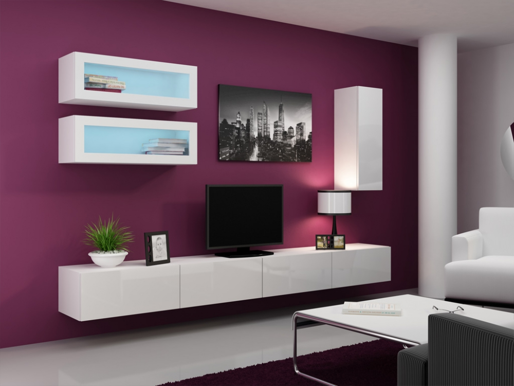 Seattle C1 - tall tv stands for flat screens