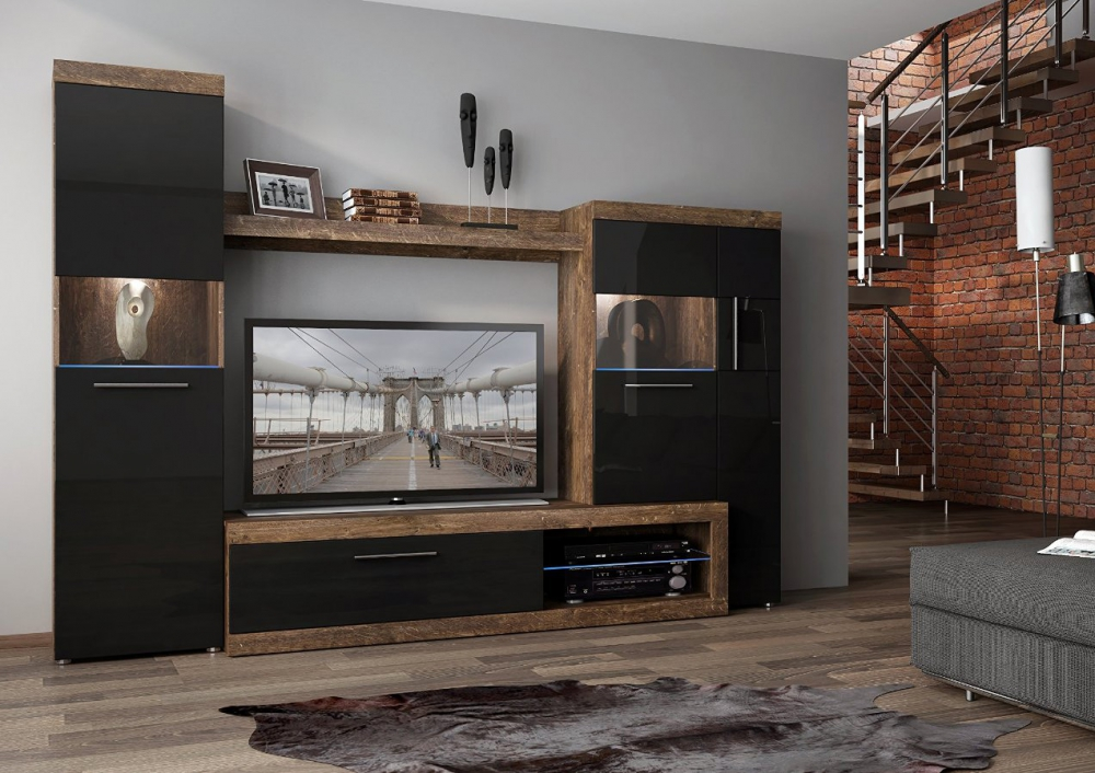 Sicily 100 - modern tv stand with storage
