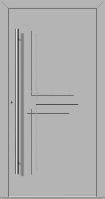 LIM Hawk-t - solid aluminium front door