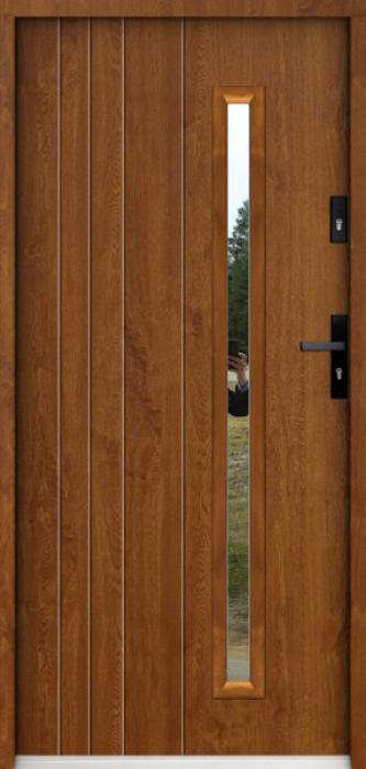 Sta Vasco - solid single front door
