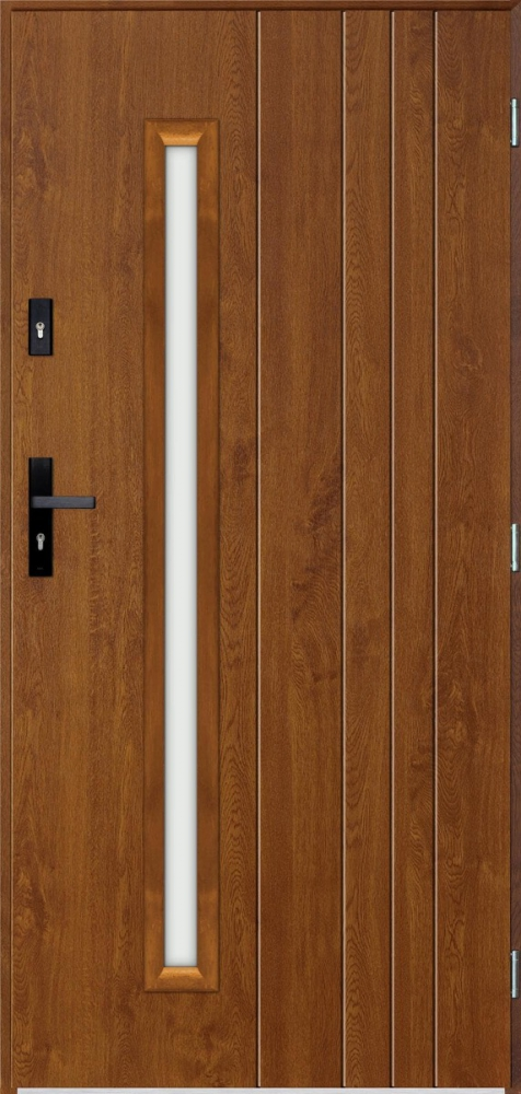 Sta Vasco - solid single front door