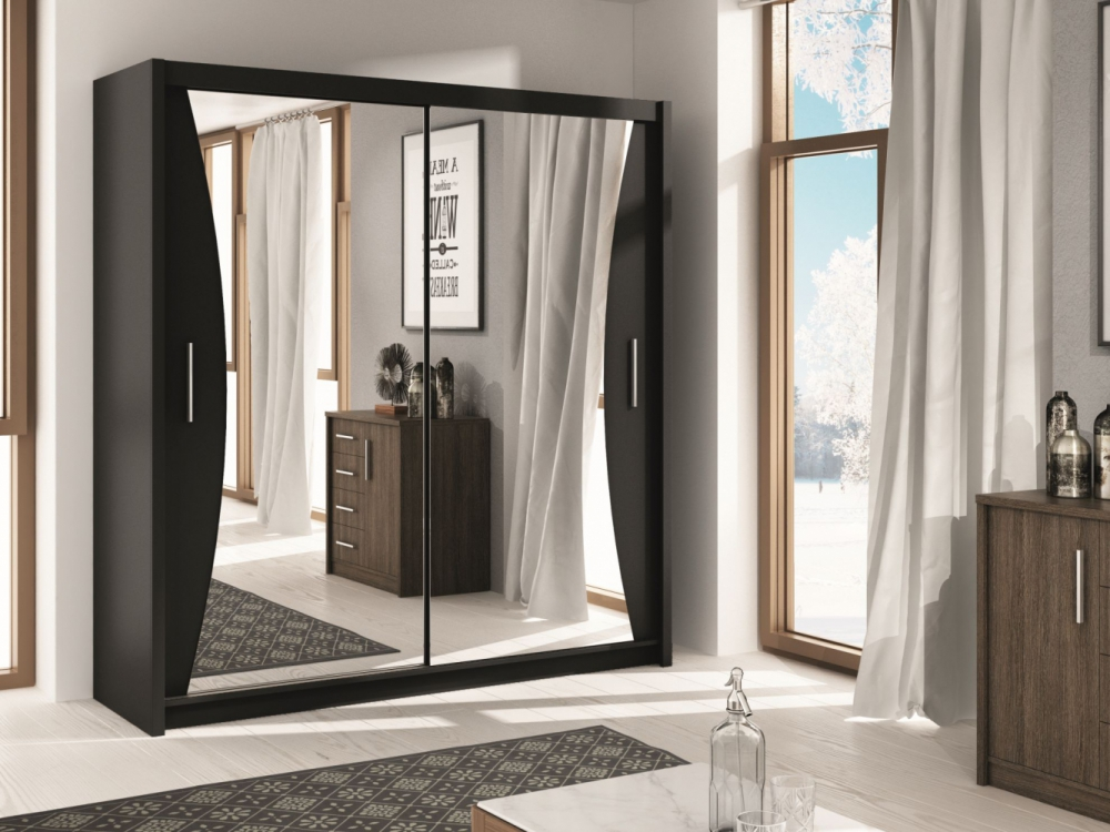 Uxbridge - storage armoire with mirror