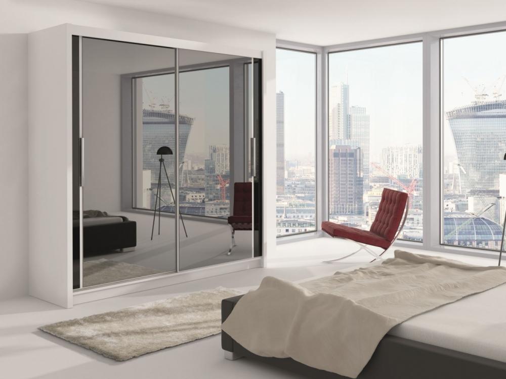 Choisi 203 - sliding wardrobe doors with mirror