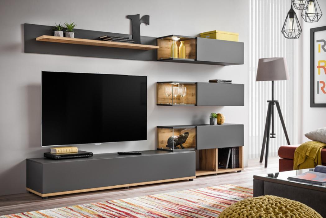 Simi Modern Entertainment Center, Living Room Entertainment Center