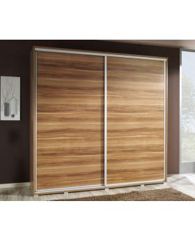 VIVIA 205 - plum sliding wardrobe doors