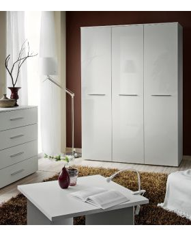 Wardrobe 135 - White armoire