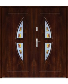 Fargo 15 double - double front entry door