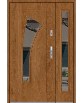 Fargo 17DB - modern front door with side panels