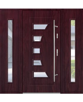 Fargo 18 T - metal front door with 2 side panels