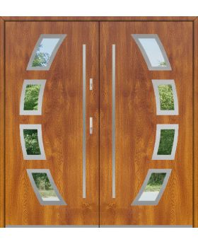 Fargo 21A double - double front doors / french doors