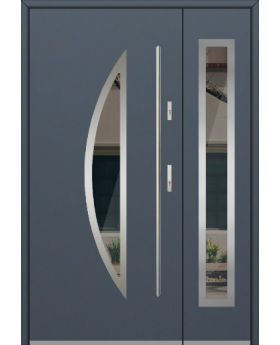 Fargo 22DB - contemporary front door with side panel