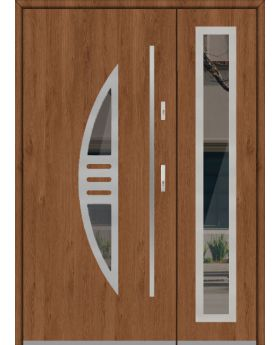 Fargo 24 DB - front door with side panels