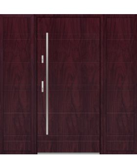 Fargo 26E T - front door with two side panels