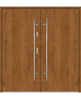 Fargo 26 F double - double front doors / french doors