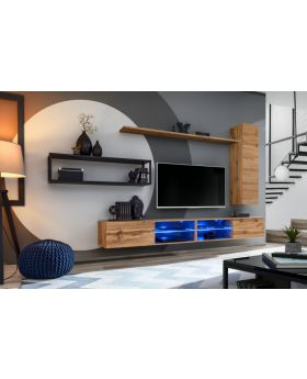 Shift M4 - wall mounted tv cabinet