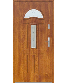 Fargo 34 - external front door with glass
