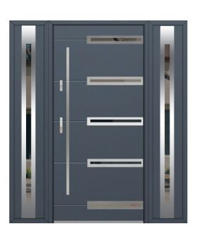 Fargo 39 T - front door with two side panels