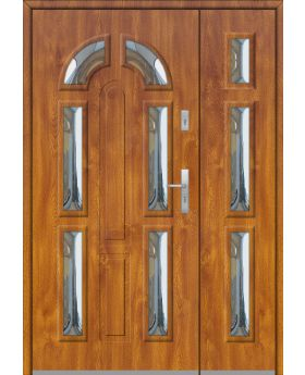Fargo 9B DB - front doors with side panel