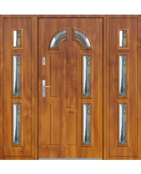 Fargo 9T - front doors with two side panels
