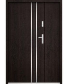 Gama Uno - high-quality double front entry door