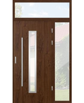 custom configuration - STA door with right and top sidelight (view from the outside)