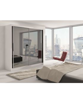 Choisi 203 - sliding wardrobe doors with mirror