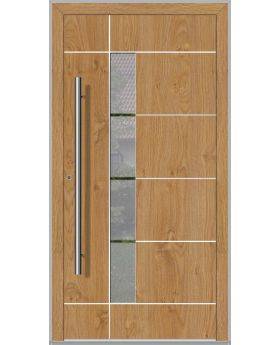 LIM Bandera - contemporary aluminium front door