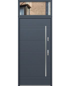 custom configuration - Fargo door with top glass panel