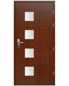 Zbical - solid wood front door / oak or pine entry door