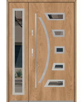 Fargo 23 DB - stainless steel double door