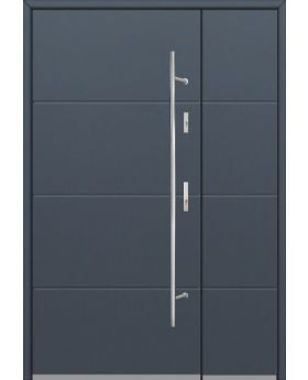 Fargo 26 E DB - front door with one side panel