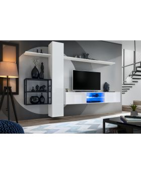 Shift M5 - modern wall unit for living room