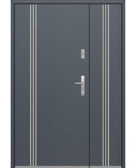 Fargo 32B DB - entrance door with side panels