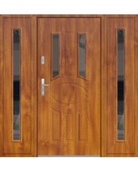 Fargo 33A T - front door with 2 sidepanel