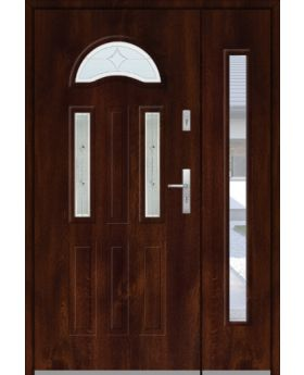 Fargo 34 A DB - front doors with side panel