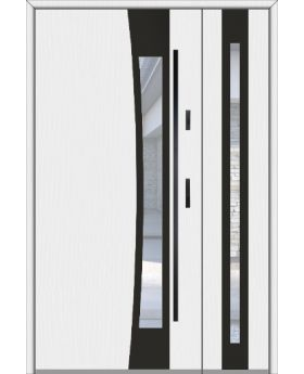 Fargo 37 DB - front doors with side panel