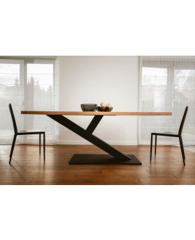ZAFF 03 - wood dining room table