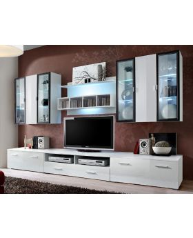 Malmo 3 - tv entertainment stand