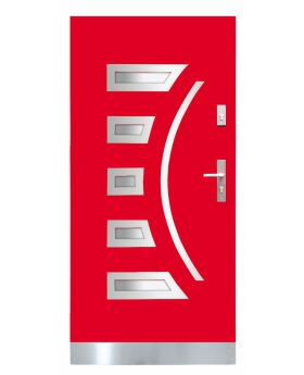 Fargo 23 CAMELEON - red front door