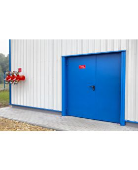 W1 double - double / french fire-rated doors FD60