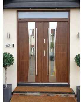 Fargo 37 double - double front entry door / french doors