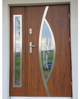Fargo 31 DB - contemporary front double door