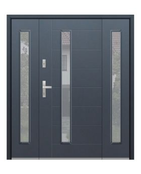 Fargo 42T - modern front door + 2 side panels