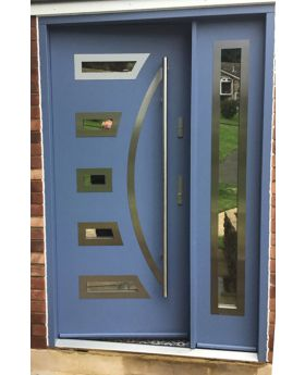 Fargo 23 DB - front doors with side panel