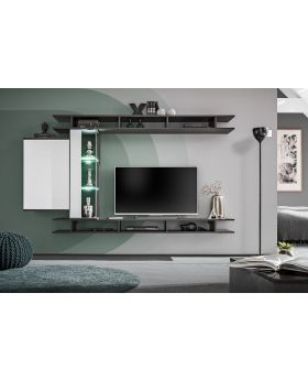 Asgam - tv entertainment wall unit
