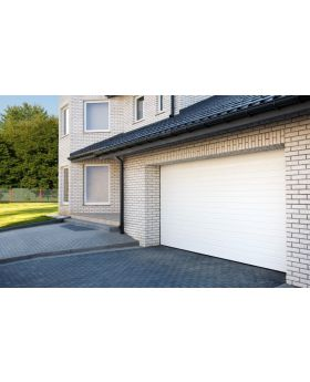 WIS 3 -  Garage door made of panels with low ribs